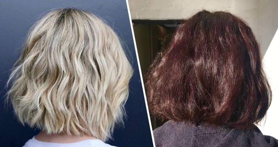 removal hair dye